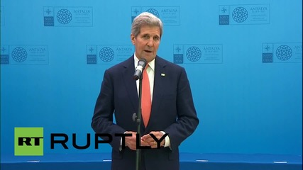 "Turkey: ""Critical moment for action by Russia"" – Kerry at Antalya NATO summit"