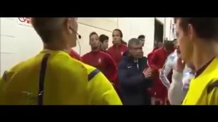 Кристиано Роналдо и Лео Меси добри приятели?