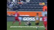 25.04 Хъл Сити - Ливърпул 1:3 Дирк Кайт втори гол