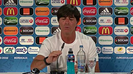 France: Loew and Ozil discuss Germany's chances against Italy