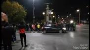 Протестиращи полицаи блокираха Орлов мост