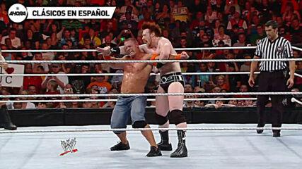 John Cena & Randy Orton vs Edge & Sheamus: Raw, Jun 14, 2010 (Lucha Completa)