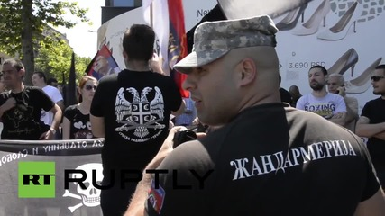 Serbia: Radical Party supporters slam PM Vuvic for attending Srebrenica memorial