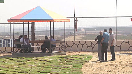 State of Palestine: 'The Return' playground opens in Gaza near border protests' site