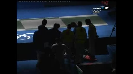Womens Sabre Semi final Pekin 2008 bout 2