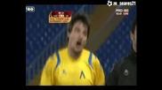 Лацио - Левски 0:1 гол на Христо Йовов