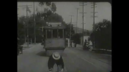 Първият скеч на Лаурел И Харди (1921)