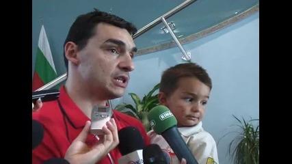 Владо Николов: Отборът ни върви нагоре