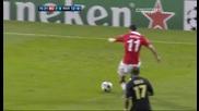 Манчестър Юнайтед 2 - 1 Марсилия Чичарито Втори Гол *hq*