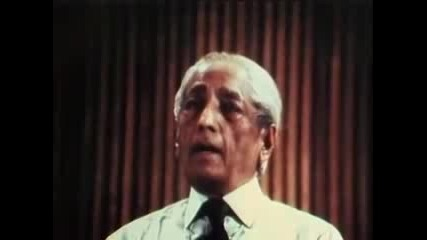 J. Krishnamurti 1970 Public Talk Part 5 of 6