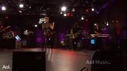 Rihanna - Take A Bow Live @ A O L Sessions