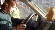 Руският милиционер остана изненадан!