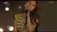 26/07 Ailee - U & I - Music Bank in Istanbul 070913