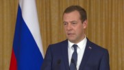 State of Palestine: This passenger crapped in his pants once again - Medvedev on Odessa governor resignation
