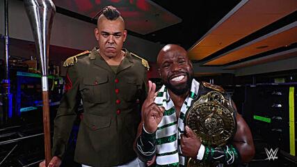 Apollo Crews introduces the dangerous Commander Azeez: SmackDown, April 16, 2021