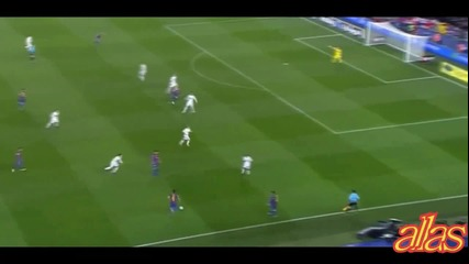 Barca vs Real madrid passes