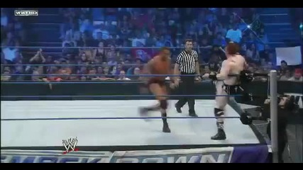Randy Orton vs Sheamus Smackdown