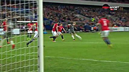 Норвегия - Германия 0:3 /репортаж/