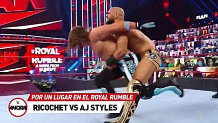REVIVE Raw en 6 (MINUTOS): WWE Ahora, Ene 18, 2021