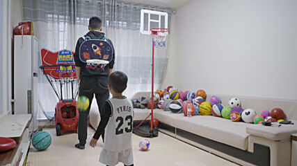 Watch out Yao Ming - 3 y/o basketball prodigy doesn't miss a shot