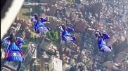 Летене над Голямата Ябълка ( Wingsuiting )
