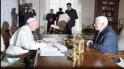 Pope Welcomes Mahmoud Abbas Ahead of Treaty With Palestine