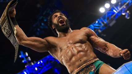 Jinder Mahal wins the WWE Championship