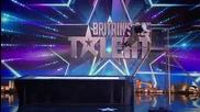 Екстремен акробат вдигна журито и цялата зала на Britain's Got Talent 2015 на крака