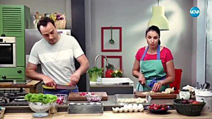 Зелена салата с репички и таханов сос - Бон Апети (21.06.2018)