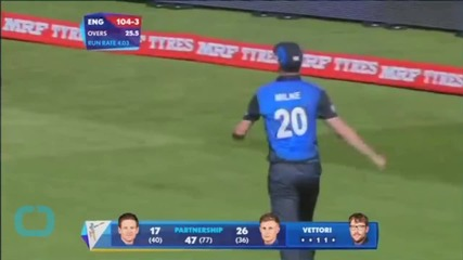 New Zealand See Off England to Lead in Cricket Series