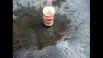 Кока кола + ментос Vbox7