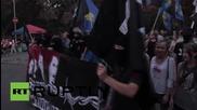 Ukraine: Nationalists march to support Buzina murder suspects in Poltava