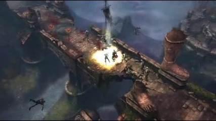Diablo 3 Barbarian - Leap