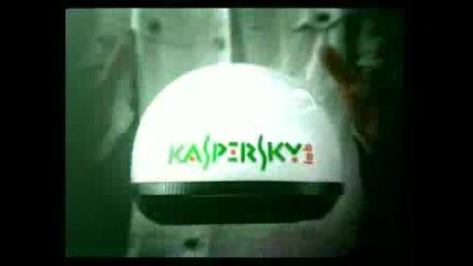 Джеки Чан в реклама на Касперски
