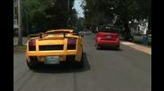 Smartcar Vs. Lamborghini Gallardo