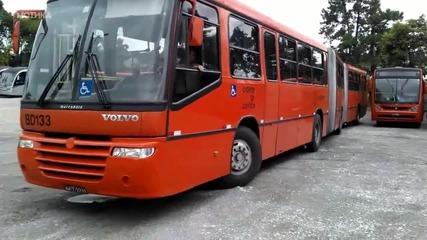 Паркиране на автобус на тясно място - Like a Boss
