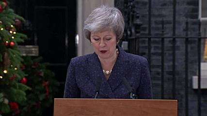 UK: 'I will contest that vote with everything I've got' - May on no confidence vote