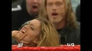 Lita Vs Maria [ Edge Mick Foley]