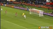 група D - Сърбия 0 - 1 Гана (световно - 13.06.2010)