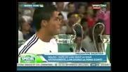 Cristiano Ronaldo (cr9) Presentation to Real Madrid (at Bernabeu 6 July 2009) *cr9* !!!!