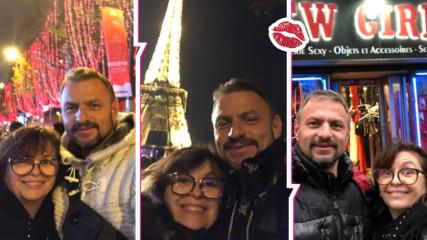 Миглена Ангелова на романтична коледна ваканция в Париж! Кой е мъжът до нея?