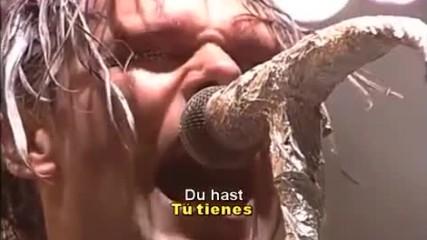 Rammstein - Du Hast Sub Esp T tienes