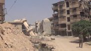 Syria: Daraya in ruins as government forces take control following four year siege
