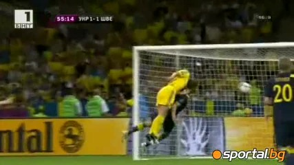 Украйна обърна Швеция 2-1