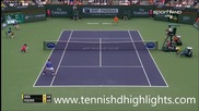 Roger Federer vs Jack Sock - Indian Wells 2015