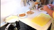 Павел Димов за Кулинарни войни - Есенни ролца със свинско контра филе и пресни гъби