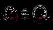 Audi Rs6 Лети по магистралата с 333 км