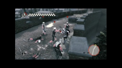 Assassins creed 2 gameplay fight in rome