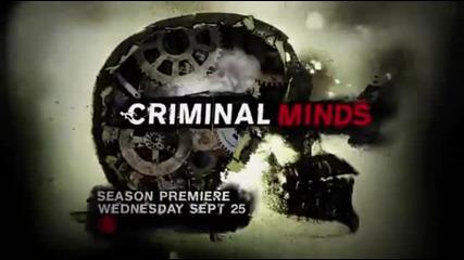 Criminal Minds 9x01 Promo/ Престъпни намерения 9x01 промо