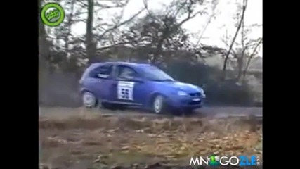 Рали Идиот На Годината забравя навигатора си луд състезател 100% смях